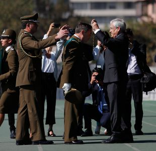 [VIDEO] Piñera asegura que daño a imagen de Carabineros es reparable