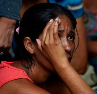 Está quemado, pero vivo: la dolorosa espera de familiares de víctimas del incendio en Venezuela