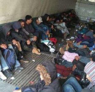 Centroamericanos de caravana migrante llegan a frontera México-EEUU para pedir asilo