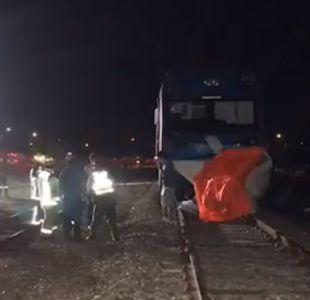 Choque de tren con una camioneta deja a una persona fallecida en Talca