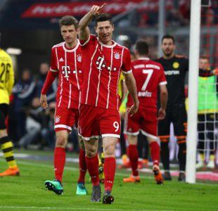 Bayern aplasta 6-0 al Dortmund pero tendrá que esperar para ser campeón