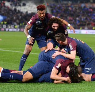 PSG gana 3-0 a Mónaco y conquista por quinta vez consecutiva la Copa de la Liga
