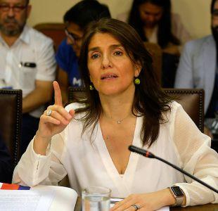 Parlamentarios oficialistas critican dichos de ex vocera de gobierno