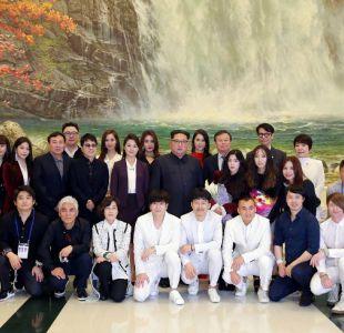 Kim Jong Un se declara profundamente conmovido por concierto de K-Pop en Corea del Norte