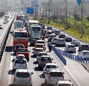 [VIDEO] MOP descarta la apertura de barreras en peajes en caso de colapso de carreteras