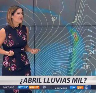 [VIDEO] ¿Abril lluvias mil?: Así estará el tiempo esta semana