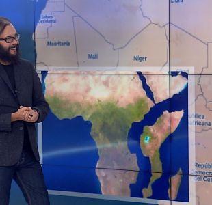 [VIDEO] Marcelo Lagos explica cómo es la grieta que podría separar África