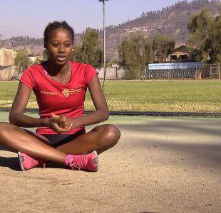 [VIDEO] El sueño de Berdine Castillo, la promesa del atletismo chileno