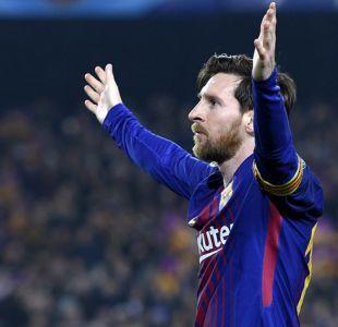 [VIDEO] Grupo musical chileno es uno de los favoritos de Lionel Messi