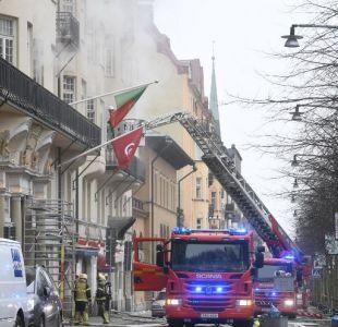 Incendio afectó a las embajadas de Portugal, Túnez y Argentina en Suecia