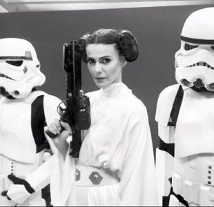 [VIDEO] Tonka, Martín y Polo realizan creativa promoción de Bienvenidos al estilo Star Wars