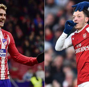 Atlético Madrid y Arsenal son favoritos en los cuartos de final de la Europa League