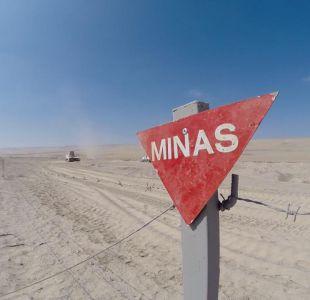 [VIDEO] El anónimo retiro de minas antipersonales: Aún quedan poco más de 18 mil por destruir