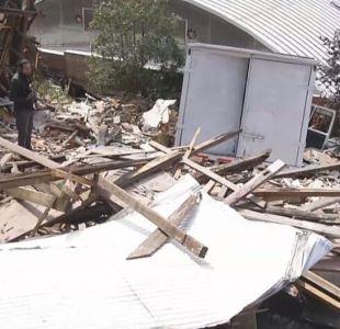 [VIDEO] Camión cae sobre una casa en Viña del Mar
