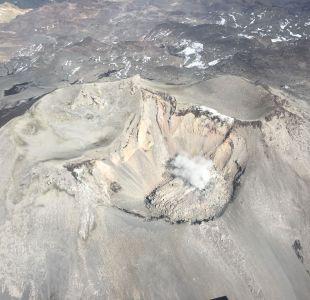 [VIDEO] Así luce el complejo volcánico Nevados de Chillán, declarado en alerta naranja