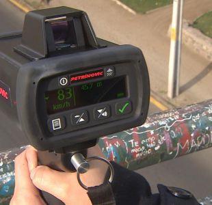 [VIDEO] Fotorradares acusarán exceso de velocidad