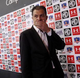 """Aníbal Mosa tras sorpresiva caída de Colo Colo: """"Respaldo a Guede y al equipo entero"""""""
