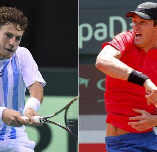 Vuelve un clásico: Chile choca nuevamente con Argentina en Copa Davis tras 18 años