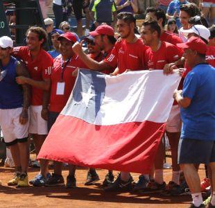 Copa Davis 2019: Chile logra cupo para fase clasificatoria del campeonato