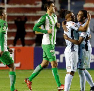 Se hunde Colo Colo: Bolívar vence sufriendo a Atlético Nacional en la Libertadores
