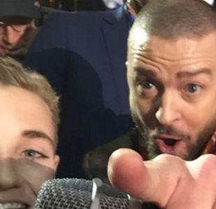Selfie kid y Justin Timberlake se vuelven a reunir