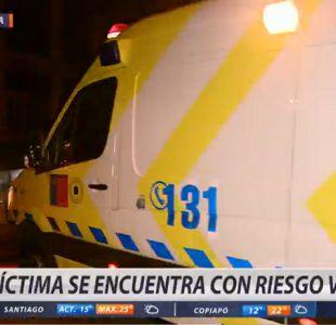 [VIDEO] Adolescente apuñaló a compañero de colegio en Cerro Navia
