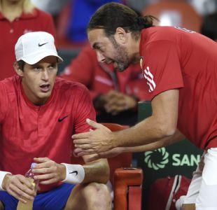 """Jarry agradece a Massú tras remontar en Copa Davis: """"Su experiencia me ayudó mucho"""""""