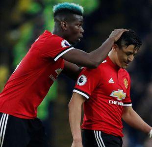 Alexis es clave en triunfo del United que evita título del City en el clásico de Mánchester