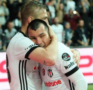 """[VIDEO] Gary Medel festeja su primer gol con Besiktas: """"Comparto esta felicidad con mi familia"""""""