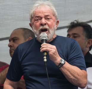 [VIDEO] Ex presidente de Brasil Lula da Silva se entregó a la justicia