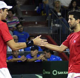 Jarry y Podlipnik vencen a dupla argentina y Chile toma ventaja en Copa Davis