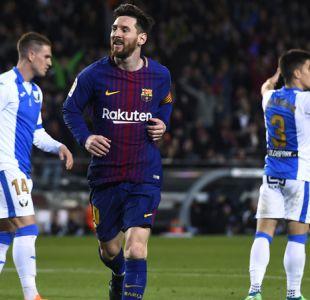 Barcelona gana con hat-trick de Messi e iguala récord histórico de invictos en España