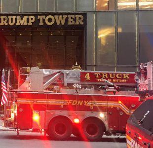 [VIDEO] Incendio en la Torre Trump: Se reportan una persona fallecida y 4 bomberos heridos