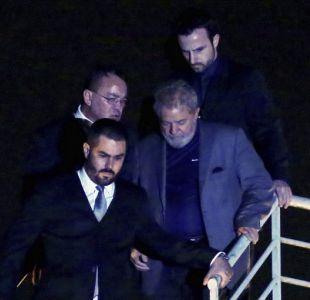 Lula da Silva pasa la primera noche en la cárcel