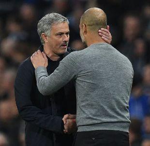 Mourinho reveló qué le dijo a Guardiola tras la remontada en el clásico de Manchester