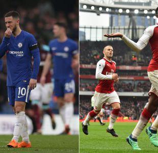 Chelsea se aleja de la Champions y el Arsenal vuelve a ganar en Premier League