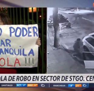 [VIDEO] Sentimos inseguridad y miedo: La protesta de vecinos en Santiago Centro
