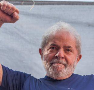 Lula y su primer mensajes desde prisión: Estoy tranquilo pero indignado