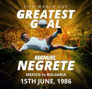 [VIDEO] Ni Pelé ni Maradona: un mexicano anotó el mejor gol de los Mundiales