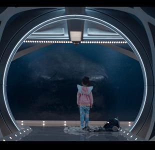 [VIDEO] Un tiburón de 22 metros es el nuevo enemigo de Jason Statham en su nueva película