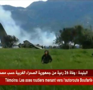 Accidente militar en Argelia: gobierno confirma 257 muertos