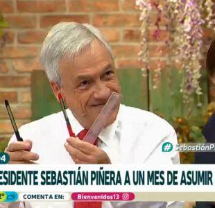 [VIDEO] ¿Qué trae el Presidente Piñera en sus bolsillos?
