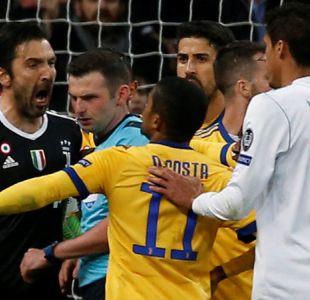 """Buffon comanda críticas de Juventus contra el árbitro: """"Tiene basura en lugar de corazón"""""""