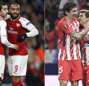 [Gol a Gol] Arsenal y Atlético favoritos: Sigue la definición de cuartos en Europa League