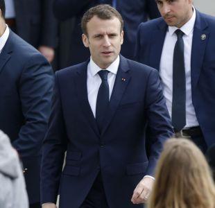 """Macron: hay """"pruebas"""" de que Bashar Al Asad usó armas químicas"""