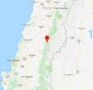 Temblor sacude esta mañana la región del Maule