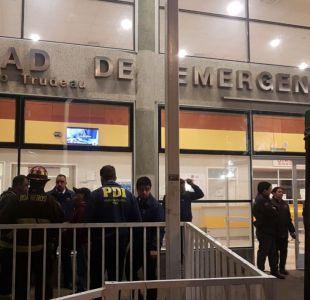 [VIDEO] Evacúan hospital Barros Luco e investigan presencia de cianuro