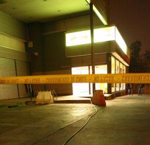 Roban caja fuerte de supermercado en Maipú: no tenía dinero