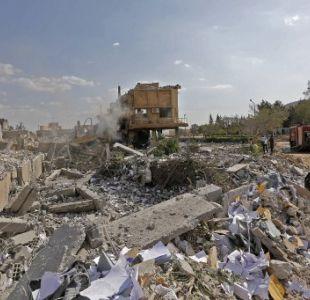 [FOTOS] Así amaneció Siria tras el ataque de Estados Unidos, Francia y el Reino Unido