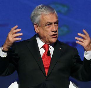 [VIDEO] Piñera critica incapacidad de la ONU para combatir uso de armas químicas en Siria